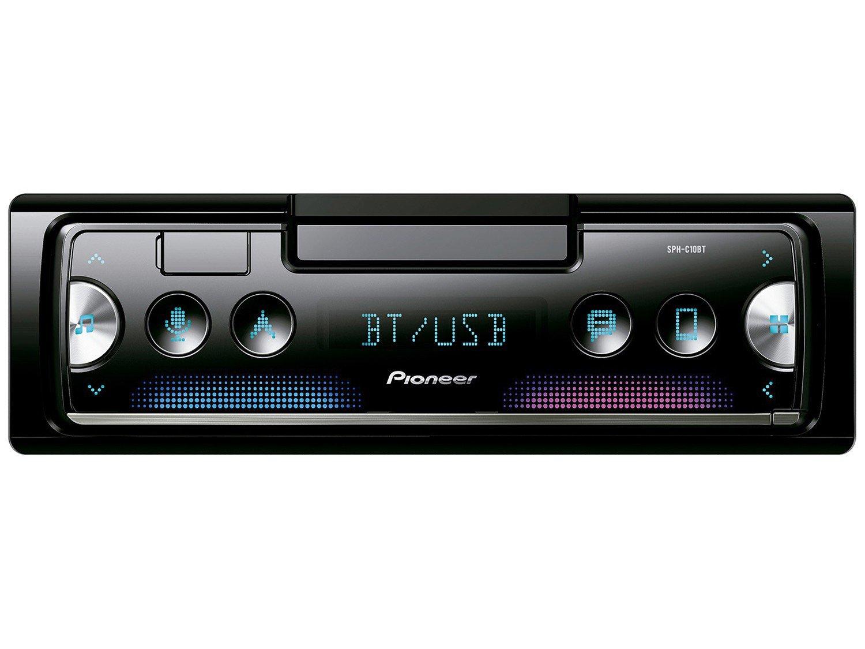 Som Automotivo Pioneer MP3 AM/FM Bluetooth - USB SPH-C10BT - 8