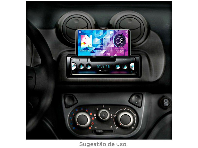 Som Automotivo Pioneer MP3 AM/FM Bluetooth - USB SPH-C10BT - 9