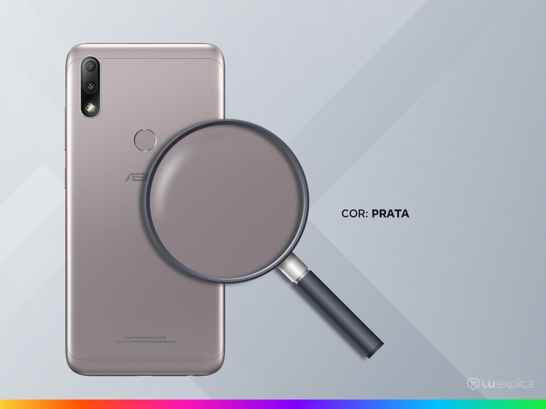 """Smartphone Asus ZenFone Max Plus (M2) ZB634KL Prata 32GB, Tela 6.2"""", Dual Chip, Câmera Traseira Dupla, Android 8.0, Processador Octa Core e 3GB RAM - 5"""