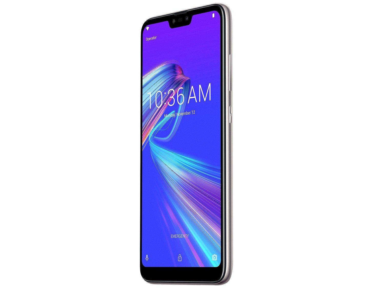 """Smartphone Asus ZenFone Max Plus (M2) ZB634KL Prata 32GB, Tela 6.2"""", Dual Chip, Câmera Traseira Dupla, Android 8.0, Processador Octa Core e 3GB RAM - 8"""