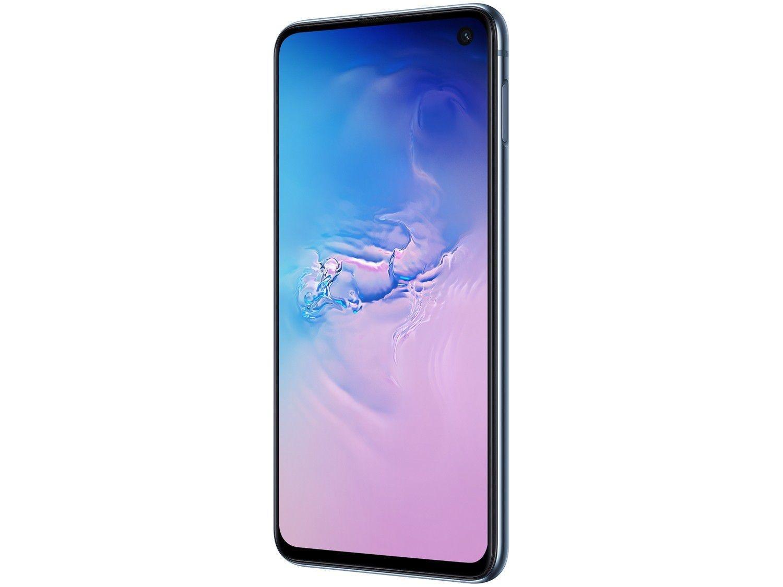 """Smartphone Samsung Galaxy S10e 128GB Azul 4G - 6GB RAM Tela 5,8"""" Câm. Dupla + Câm. Selfie 10MP - 4"""
