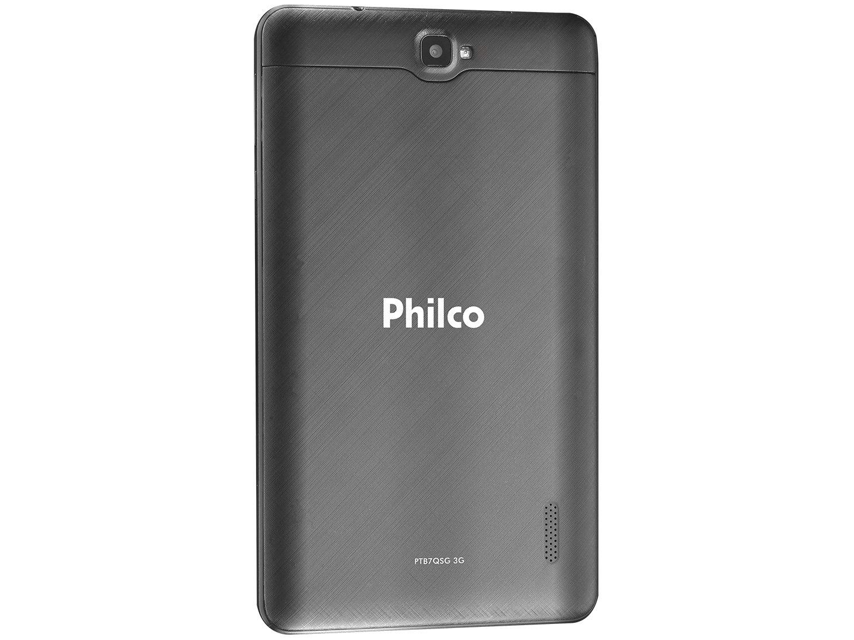 "Tablet Philco PTB7QSG 8GB 7"" 3G Wi-Fi Android 8.1 - Quad Core Câmera Integrada - Bivolt - 3"