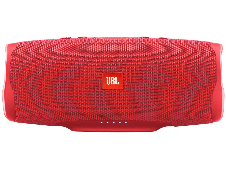 Caixa de Som Bluetooth JBL Charge 4 - à Prova de Água Portátil 30W com Microfone USB - Bivolt