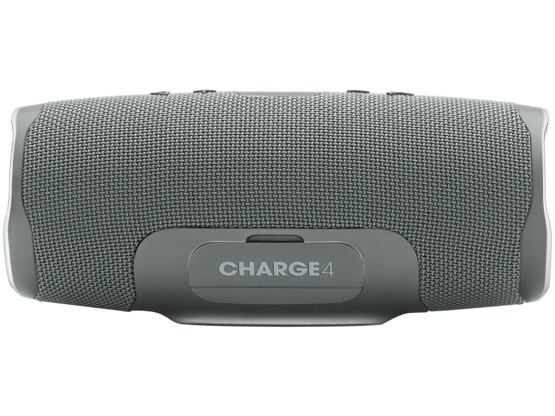 Caixa de Som Bluetooth JBL Charge 4 - à Prova de Água Portátil 30W com Microfone USB - Bivolt - 12