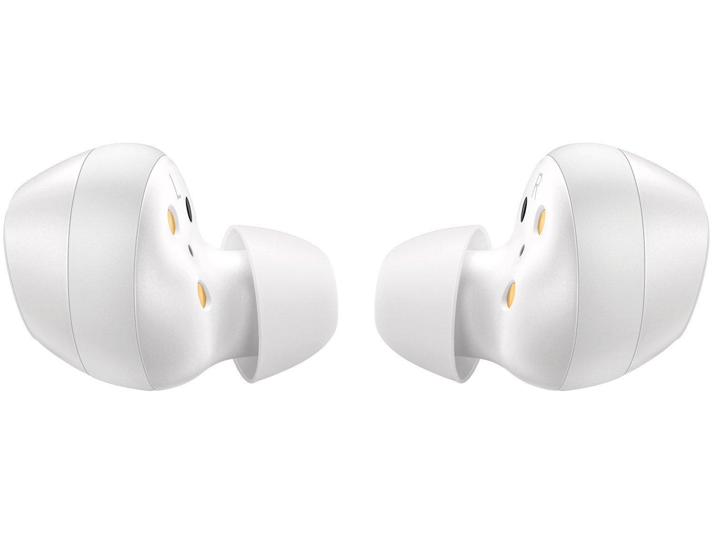 Fone de Ouvido Bluetooth Samsung Buds Galaxy - Intra-auricular com Microfone Branco - 4