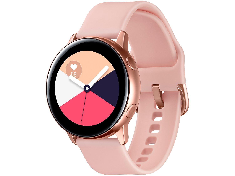 Smartwatch Samsung Watch Active Galaxy - Rosê 4GB - 4