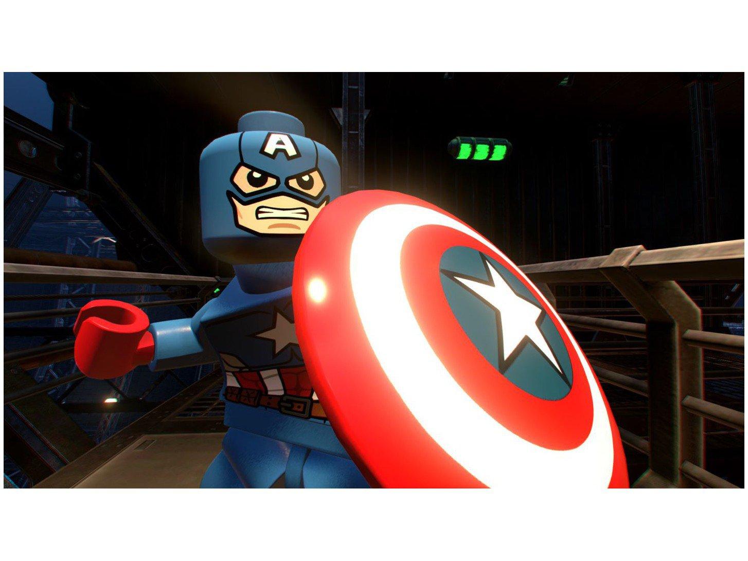 Jogo LEGO Marvel Super Heroes - PS4 - 16