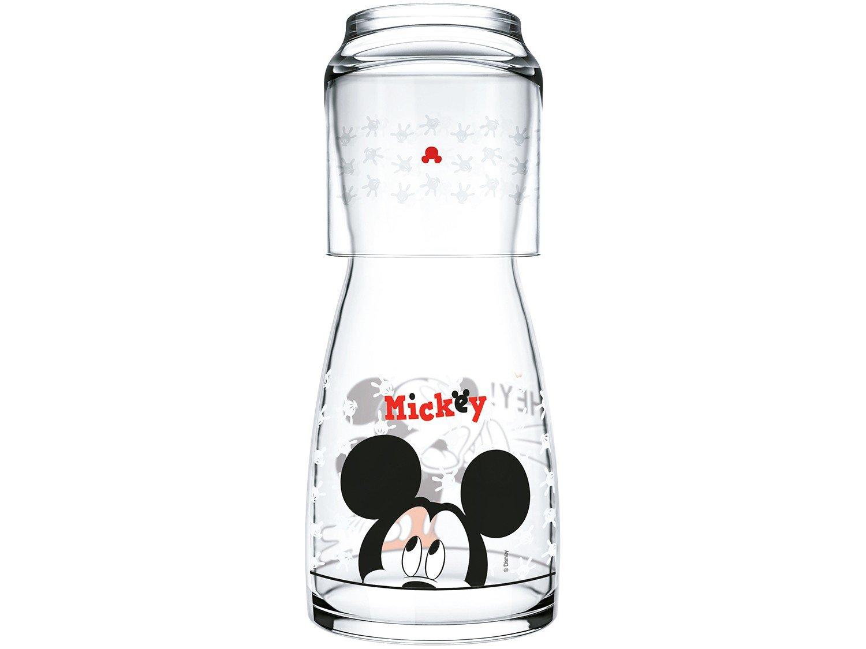 Moringa de Vidro 500ml com Copo Nadir - Disney Mickey
