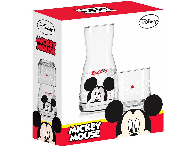 Moringa de Vidro 500ml com Copo Nadir - Disney Mickey - 4