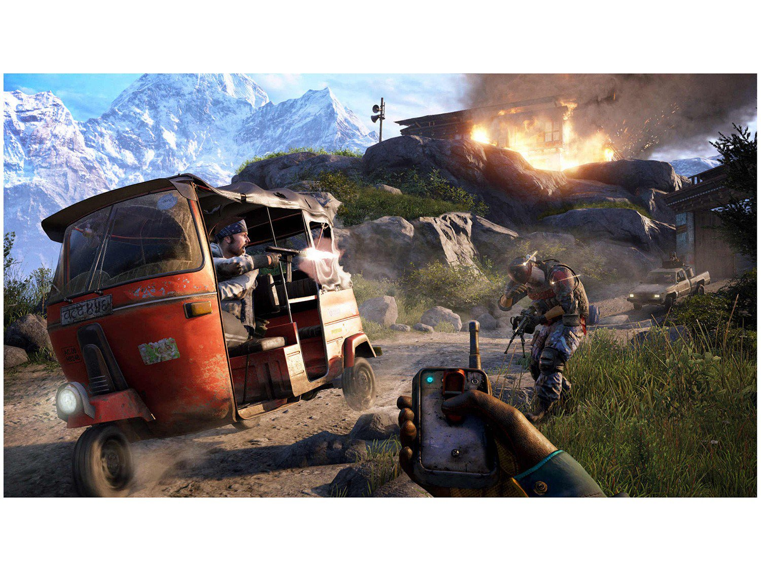 Far Cry 4 para PS4 - Ubisoft - 7