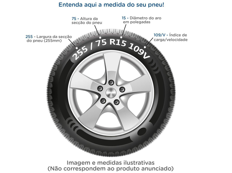 """Pneu de Moto Aro 18"""" Pirelli Traseiro 90/90 - 57P City Dragon - 1"""