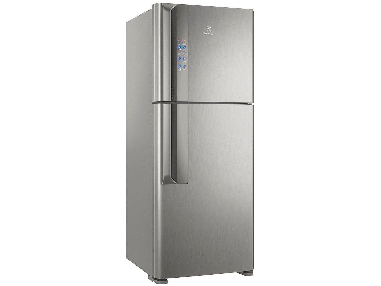 Refrigerador Electrolux Frost Free IF55S Inverter Top Freezer Platinum - 431L - 220v