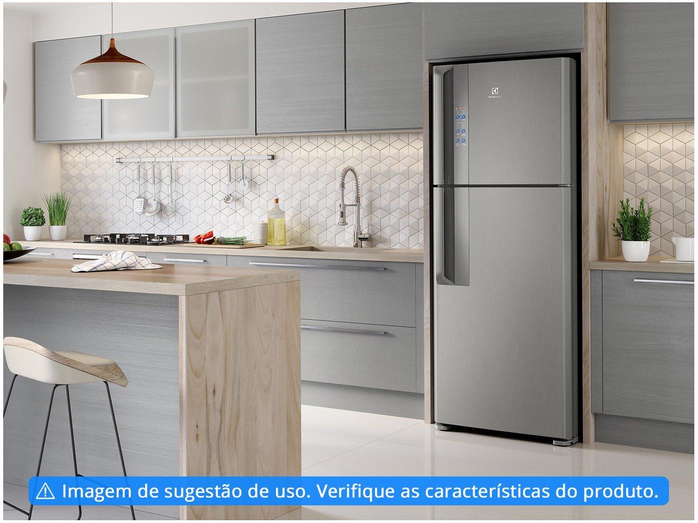 Refrigerador Electrolux Frost Free IF55S Inverter Top Freezer Platinum - 431L - 220v - 2