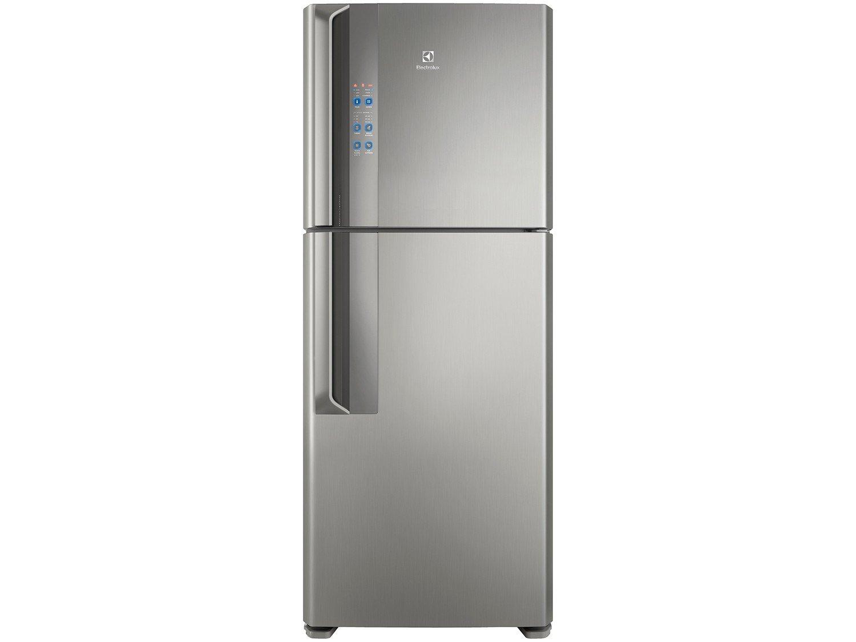 Refrigerador Electrolux Frost Free IF55S Inverter Top Freezer Platinum - 431L - 220v - 3