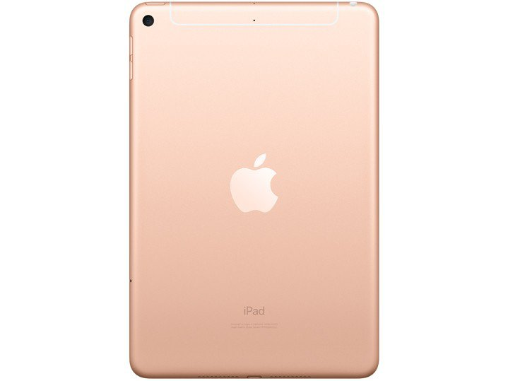 Foto 4 - iPad Mini Apple 4G 64GB Dourado 7,9 Retina - Proc. Chip A12 Câm. 8MP + Frontal 7MP iOS 12