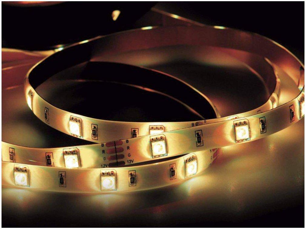 Fita LED Taschibra 2,5W 30 LEDS 12V Autovolt IP20 - 3000K - 1