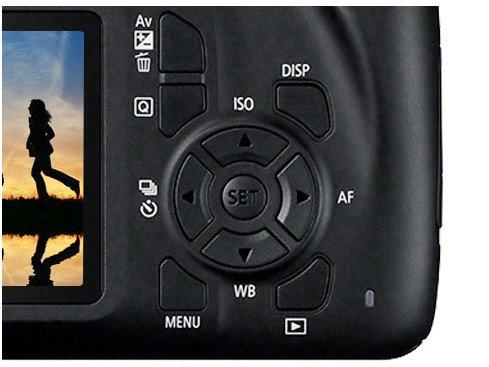 "Câmera Digital Canon EOS Rebel T100 com 18 MP, LCD 3.0"", Full HD, Digic 4+, Wi-Fi - Preta - 12"