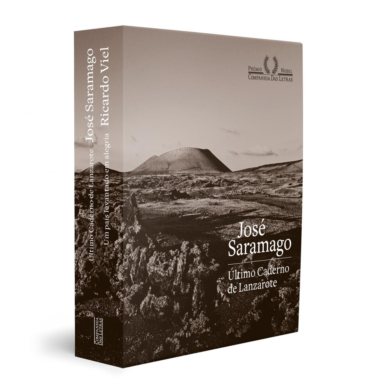 Foto 1 - Caixa comemorativa  Vinte anos do Nobel de José S - Último caderno de Lanzarote: O caderno do ano do N