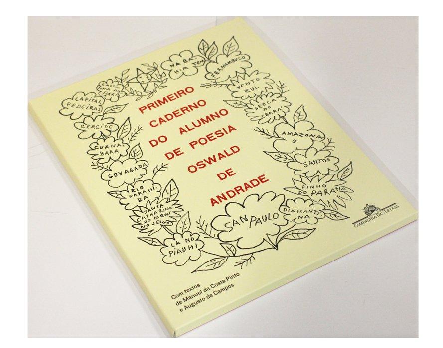 Foto 1 - Primeiro caderno do aluno de poesia -