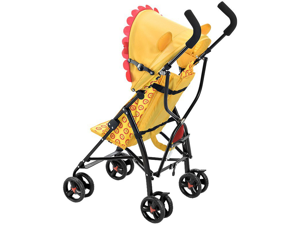 Carrinho de Bebê Fisher Price BB588 Boogie Leão - Amarelo - 8