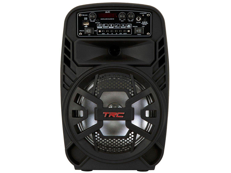 Caixa de Som Bluetooth TRC 510 Ativa Amplificada - 100W USB - 9