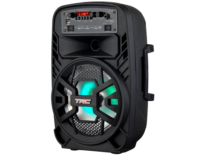 Caixa de Som Bluetooth TRC 510 Ativa Amplificada - 100W USB - 10