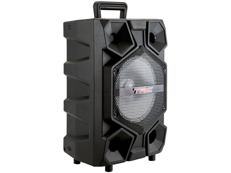 Caixa de Som Bluetooth TRC 512 Ativa Amplificada - 150W com Microfone USB - 6