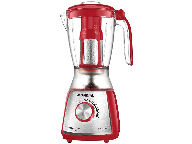 Kit Premium Inox Gourmet Red IV Mondial - com Liquidificador Batedeira Espremedor - 110 V - 2