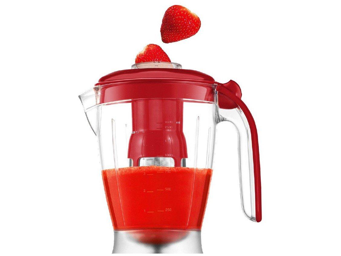 Kit Premium Inox Gourmet Red IV Mondial - com Liquidificador Batedeira Espremedor - 110 V - 4