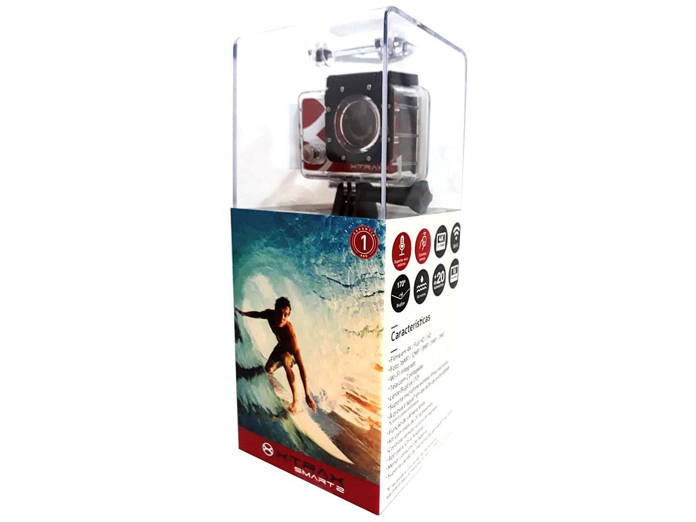 Câmera de Ação XTrax Smart 2 16MP Wi-Fi - Gravação 4K - Bivolt - 12