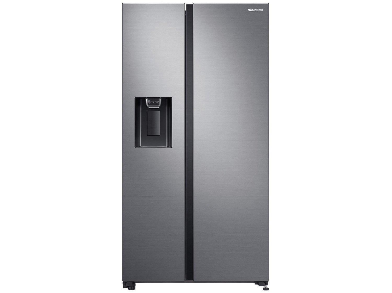 Refrigerador Samsung Side by Side RS65 Inox Look - 617L - 110v