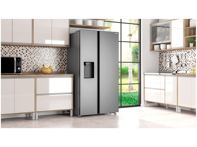 Refrigerador Samsung Side by Side RS65 Inox Look - 617L - 110v - 2