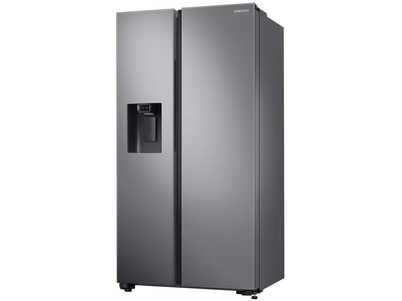 Refrigerador Samsung Side by Side RS65 Inox Look - 617L - 110v - 4