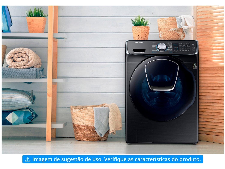 Lava e Seca Samsung 16kg Preto WD9500N - 13 Programas de Lavagem - 110 V - 15