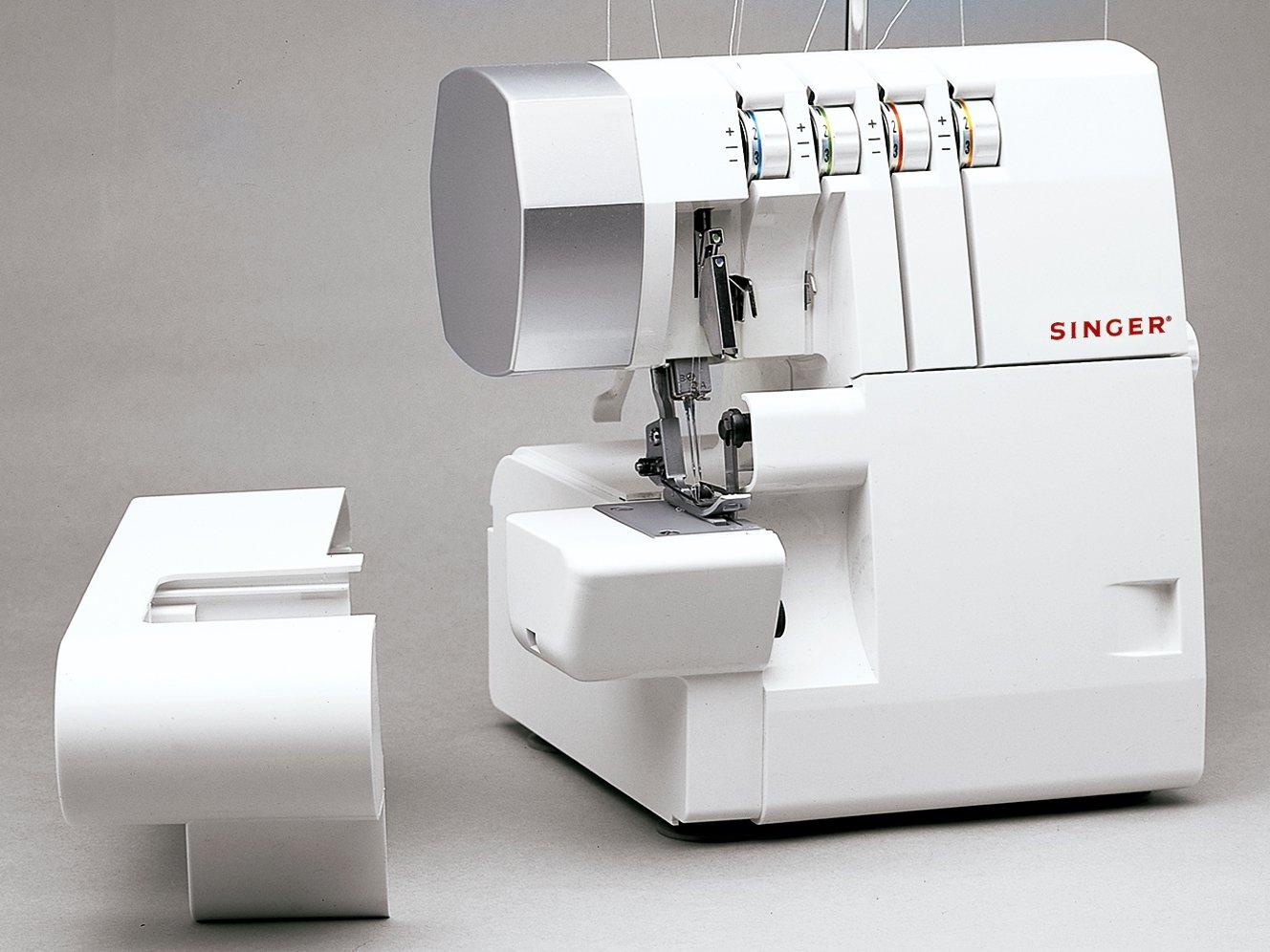 Máquina de Costura Overloque Singer Ultralock 14SH754 - Branca - 110V - 6
