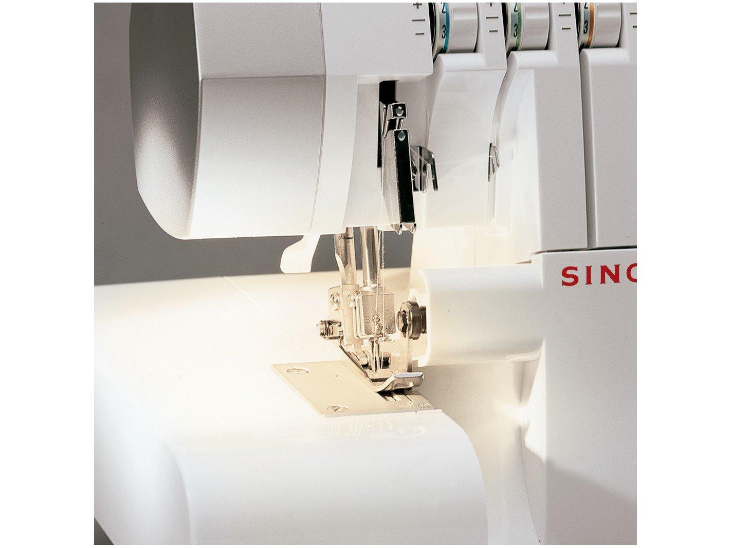 Máquina de Costura Overloque Singer Ultralock 14SH754 - Branca - 110V - 8