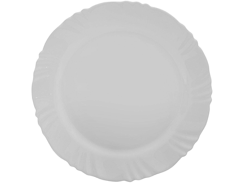 Aparelho de Jantar com Taça 16 Peças Duralex - Redondo Branco Pétala - 8