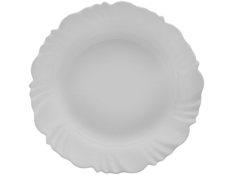 Aparelho de Jantar com Taça 16 Peças Duralex - Redondo Branco Pétala - 9
