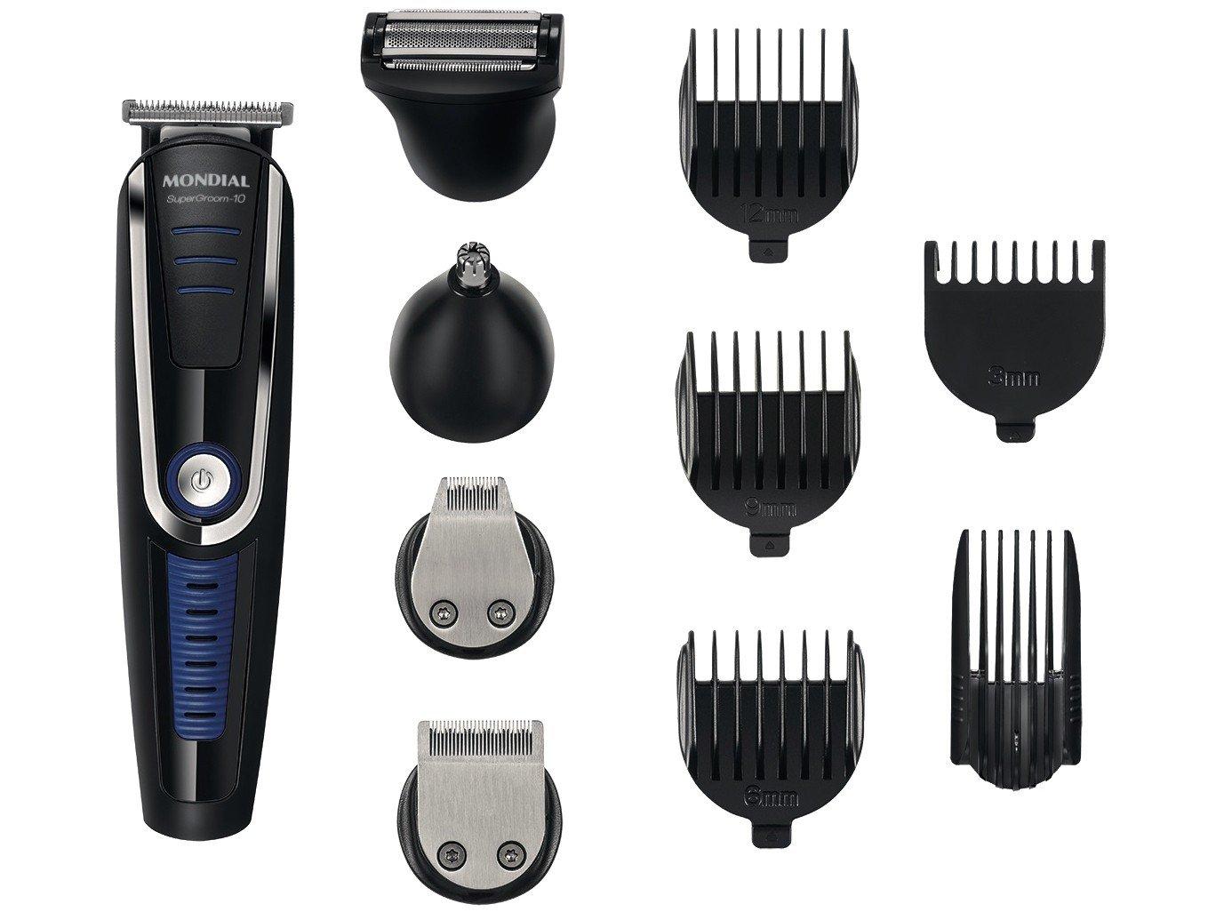 Conjunto Mondial Especial Barber KT 84 – Preto - 220v - 4