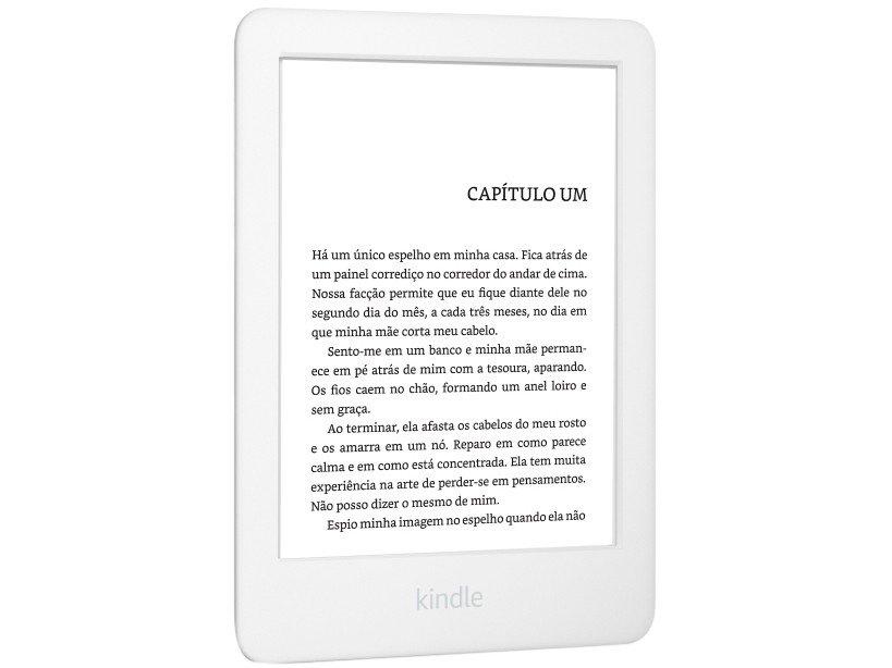 "Kindle 10ª Geração Amazon Tela 6"" 4GB Wi-Fi - Luz Embutida Branco - Bivolt - 4"