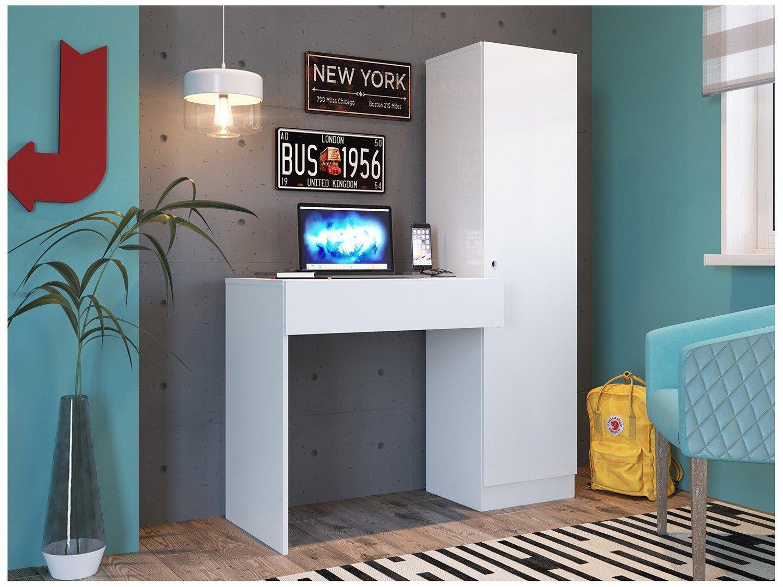 Foto 2 - Mesa para Computador 1 Gaveta 1 Porta Artany - Office Dubai