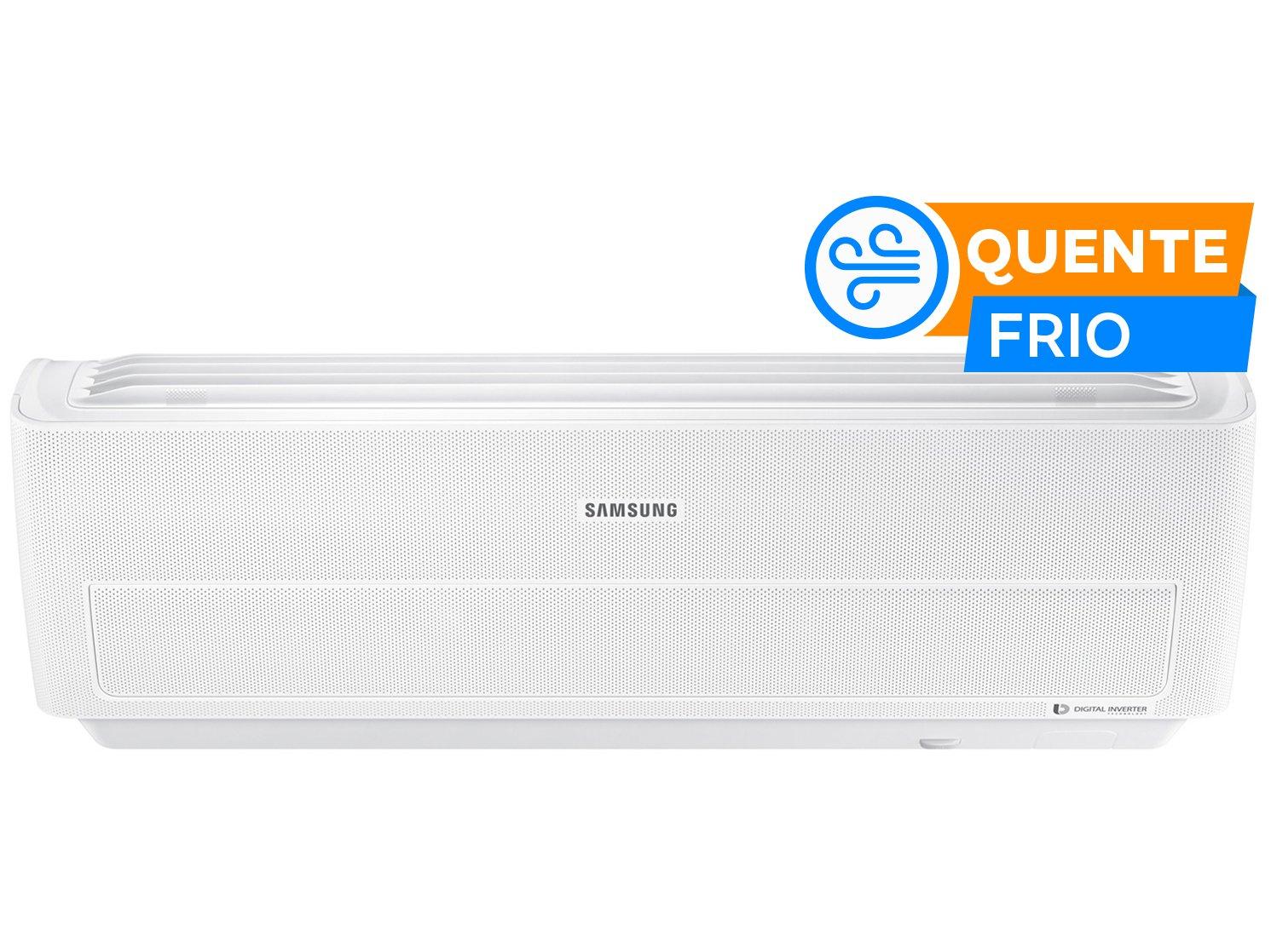 Ar-condicionado Split Samsung Inverter 12.000BTUs - Quente/Frio Wind Free AR12NSPXBWKNAZ - 220 V - 1