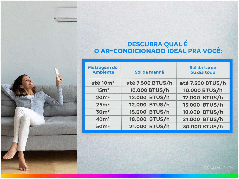 Ar-condicionado Split Samsung Inverter 12.000BTUs - Quente/Frio Wind Free AR12NSPXBWKNAZ - 220 V - 3