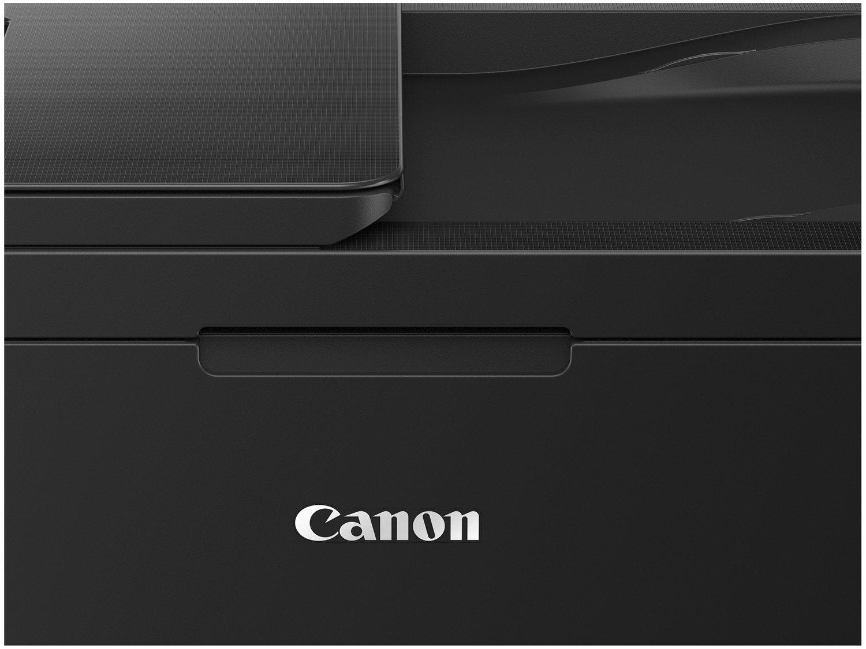Foto 3 - Impressora Multifuncional Canon PIXMA E-4210 - Jato de Tinta Colorida Wi-Fi USB