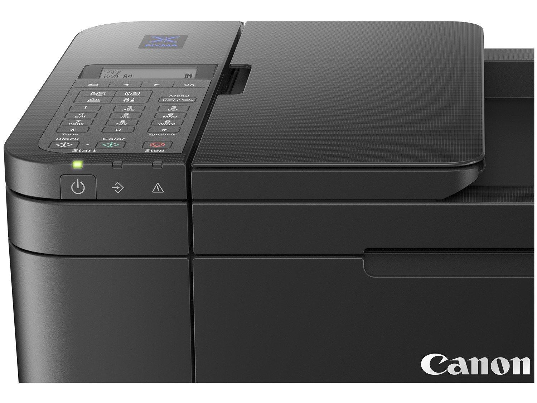 Foto 4 - Impressora Multifuncional Canon PIXMA E-4210 - Jato de Tinta Colorida Wi-Fi USB