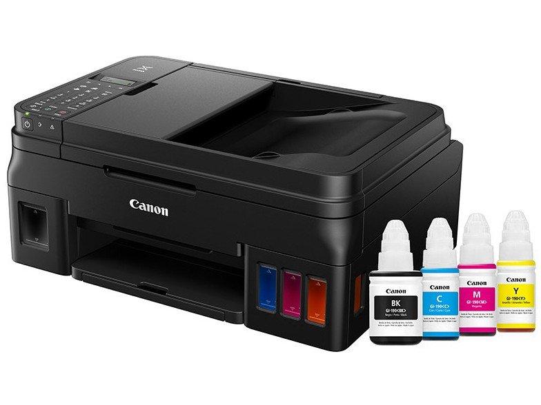 Foto 3 - Impressora Multifuncional Canon G4100 - Tanque de Tinta Colorido Wi-Fi USB