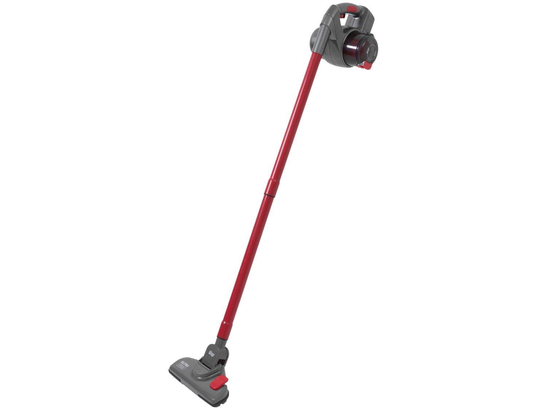 Aspirador de Pó Portátil e Vertical Wap - sem Fio Filtro HEPA 60W Ultra Mob Vermelho e Cinza - Bivolt