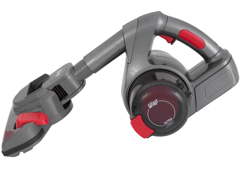Aspirador de Pó Portátil e Vertical Wap - sem Fio Filtro HEPA 60W Ultra Mob Vermelho e Cinza - Bivolt - 3