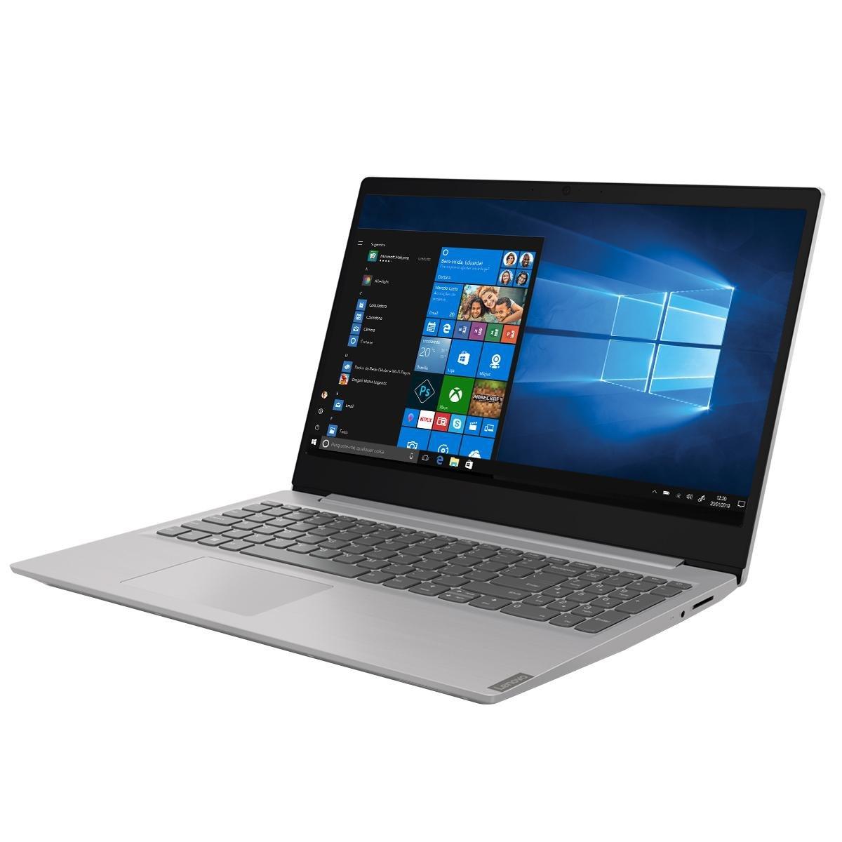 """Notebook Lenovo Core i5-8265U 8GB 1TB Tela 15.6"""" Windows 10 Ideapad S145 - 2"""