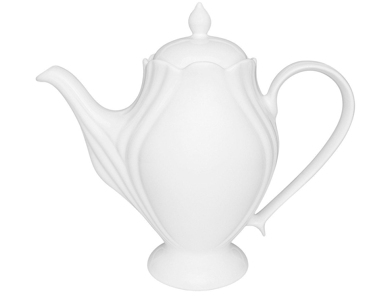 Jogo de Café com Bule e Xícaras de Porcelana - 14 Peças Oxford Soleil - 1
